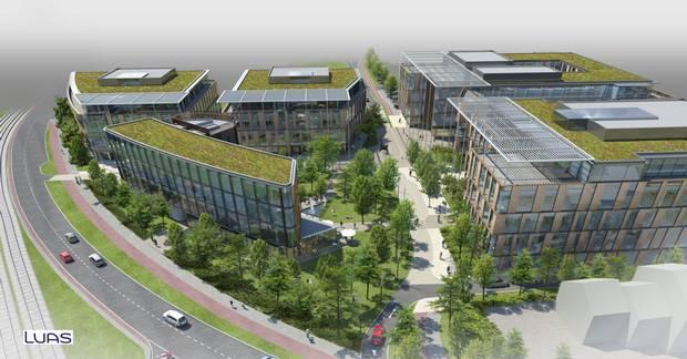 Office development of 450,000 sq ft planned for Dublin